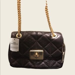 💕Coach Cassidy Quilted crossbody